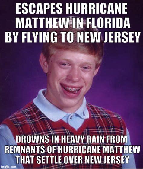 Florida Rain Meme - bad luck brian meme imgflip