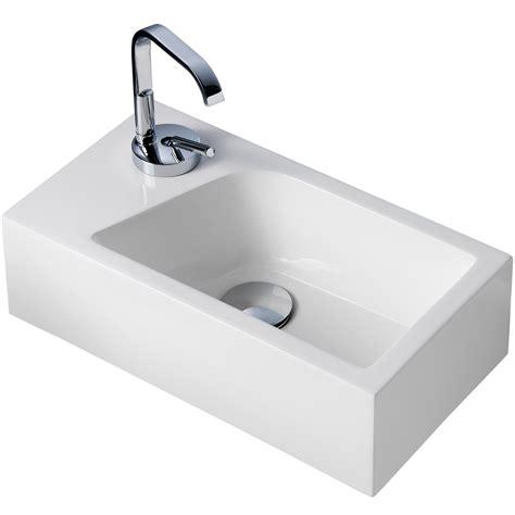 waschbecken armatur wandmontage mini waschbecken f 252 r g 228 ste wc mit armatur das beste aus