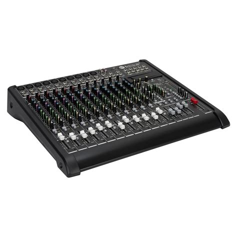 Mixer Audio 16 Channel rcf audio lpad16cx 16 channel analog usb mixer at gear4music