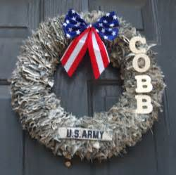 decorative wreaths door decoration home decor military