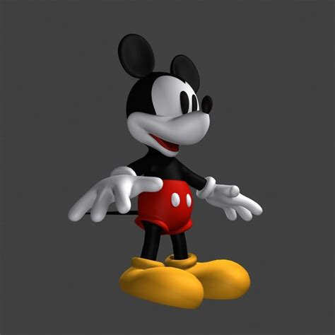 3d Mickey Mouse 3d mickey mouse