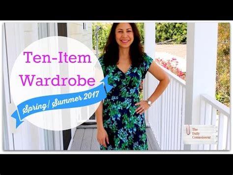 Ten Item Wardrobe - ten item wardrobe ss 2017 l daily