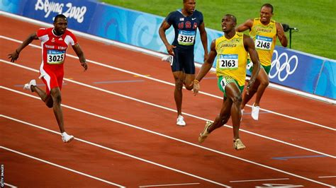 Hinomiya Beta Line Senar 100m sport usain bolt the olympic 100m chion in pictures