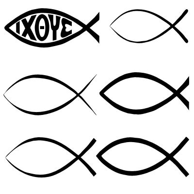 christian fish template free shapes for photoshop and elements christian symbols