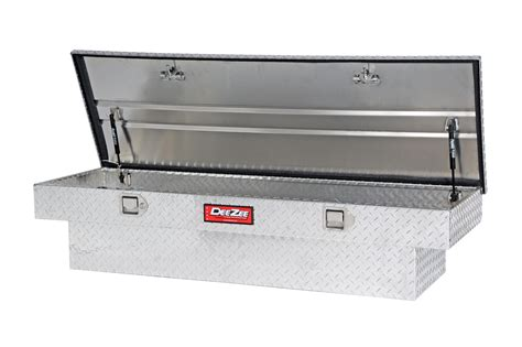 bed rail tool box new dee zee red label single lid crossover tool box truck