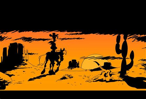 luckiest cowboy of all two books for the price of one happy books best comic book of all time lucky luke on myetvmedia