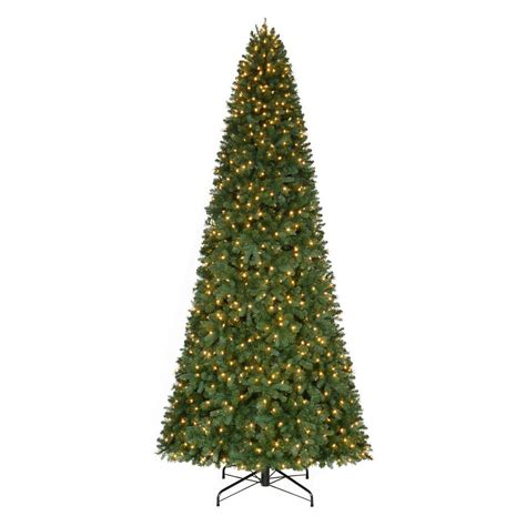 sierra nevada tree artificial home accents 7 5 ft set pre lit led nevada artificial tree with