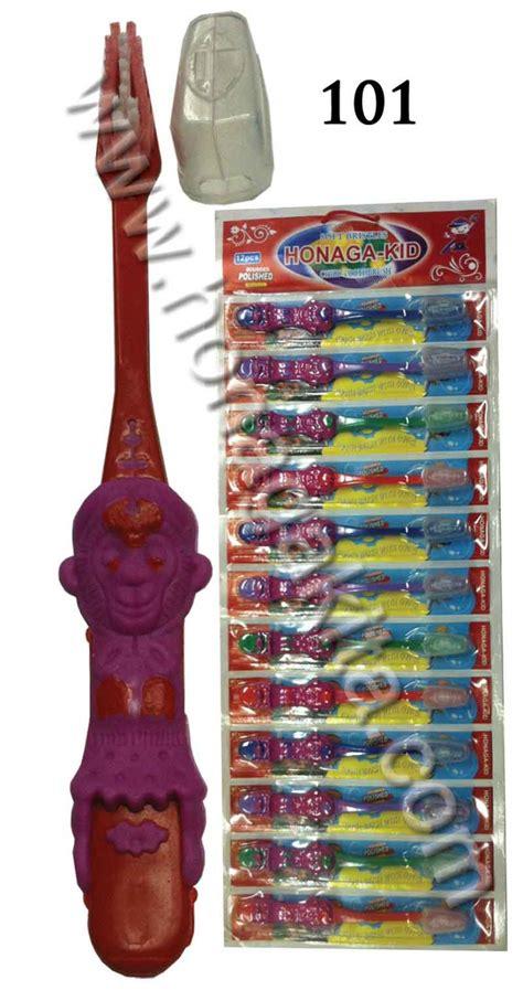 Jarum Nanolet 28g Isi 101 sikat gigi honaga kid renteng 101 toothbrush