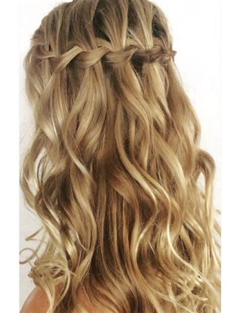 chic waterfall braid hairstyles   step  step