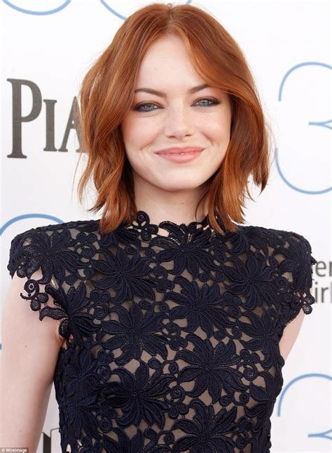 emma stone emmy julianne moore emmy rossum and emma stone stun at
