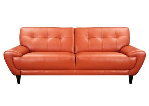 tangerine sofa sofa tangerine midtown contemporary shop by style