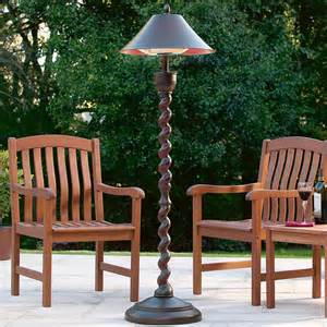 Outdoor Patio Lamps by Outdoor Patio Heater Lamp At Brookstone Traditional Patio