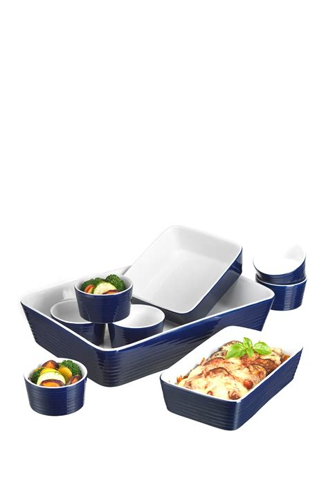 home essentials and beyond blue 9 bakeware set
