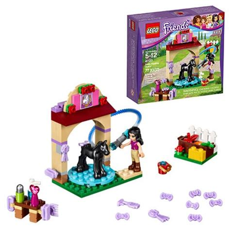 Lego Friends The Foal Washing Station 41123 lego friends 41123 foal s washing station lego lego