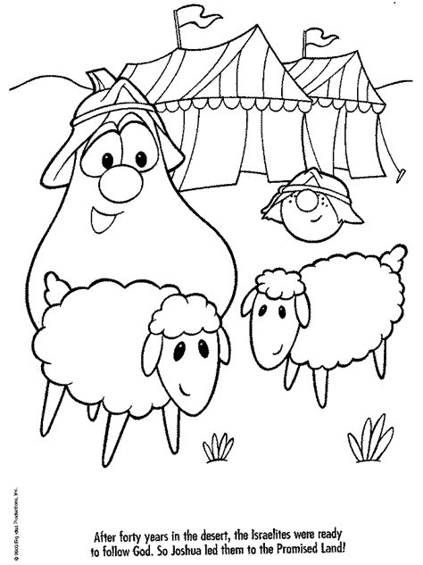 veggie tales jonah coloring pages coloring home
