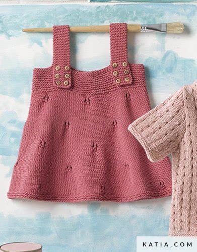 baby jurk breien patroon overgooier jurk baby lente zomer modellen