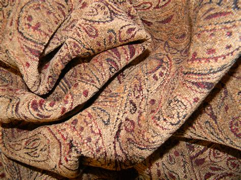 paisley upholstery items similar to chenille paisley upholstery fabric in