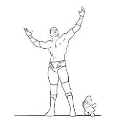 Randy Orton Coloring Pages sketch template