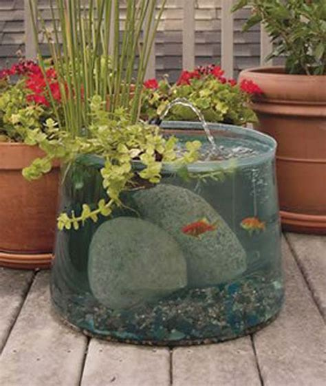 small outdoor garden ideas 21 small garden backyard aquariums ideas that will