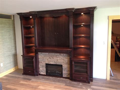 fireplace wall unit grand design