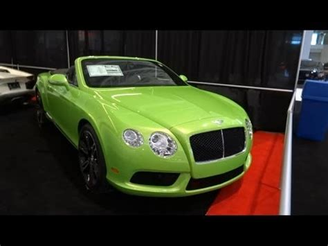 lime green bentley lime green bentley continental gtc youtube