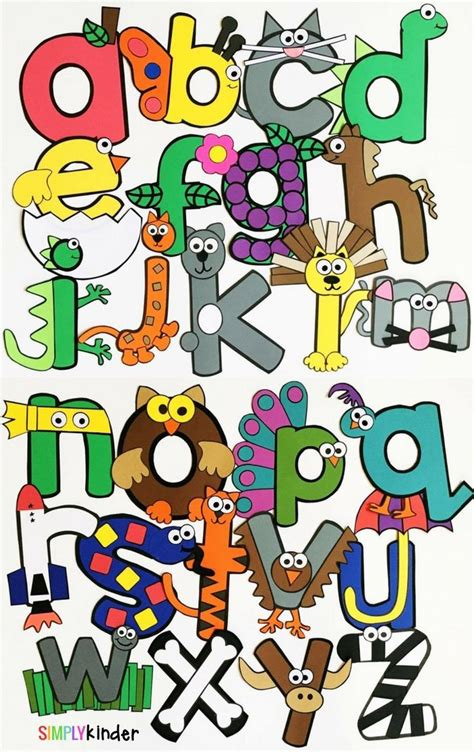 My Best Abc Alphabet Book 56 best alphabet abc letter crafts images on