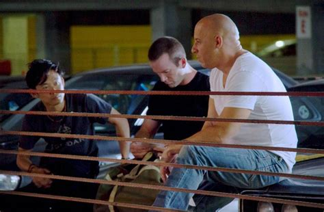 how did they film fast and furious 7 fast and furious 7 first look at lucas black and more