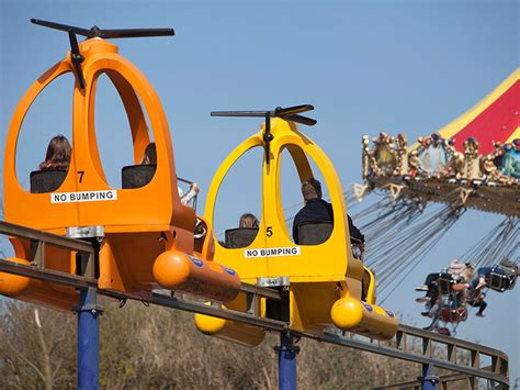 the thunderbolt ride at flambards theme park helston flambards rides and attractions open days in cornwall
