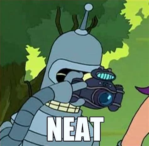 Bender Meme - neat meme research discussion know your meme