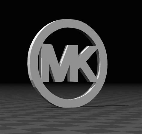 mk logo  model  printable stl