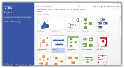 office visio visio professional 2013 filehippo