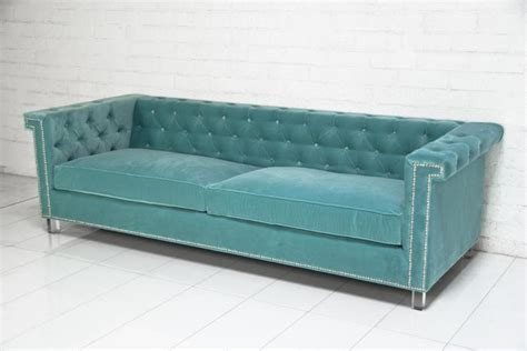 aqua sofa www roomservicestore com sinatra sofa in aqua velvet