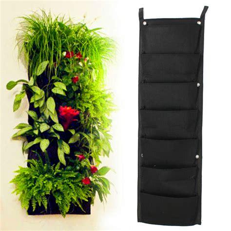 Vertical Garden Ebay 7 Pocket Indoor Outdoor Wall Balcony Herbs Vertical Garden