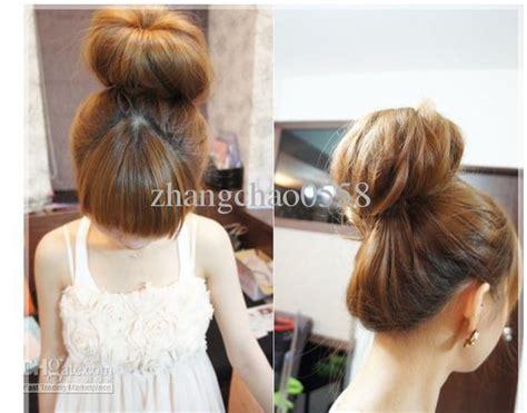 how to use bun formers diy long hair twister bun former hair donut ring maker
