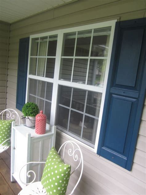 navy blue shutters 1000 images about house exterior on