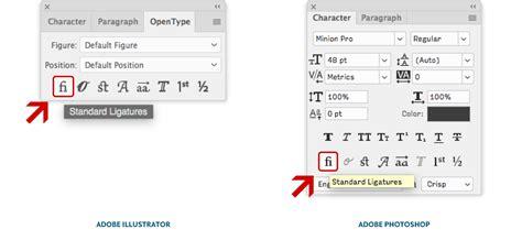 opentype layout features opentype at work standard ligatures 183 news 183 type network