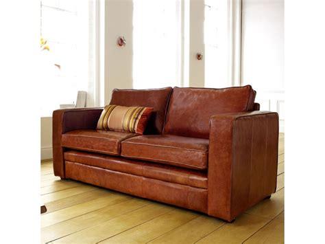 compact leather sofa compact leather sofa trafalgar the english sofa company