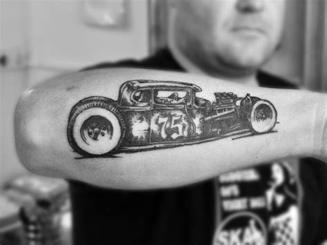 rat rod tattoo designs best 25 rod ideas on v8