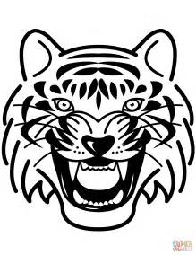 stripeless tiger coloring page click the bengal tiger coloring pages tiger coloring