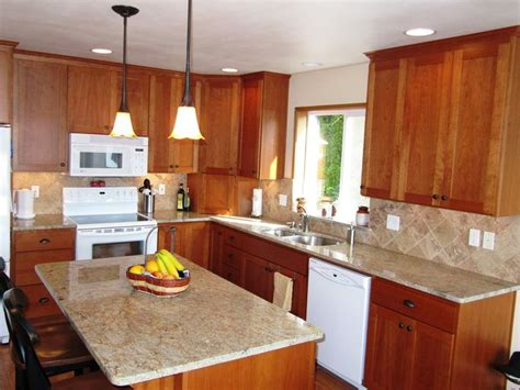 walnut kitchen cabinets granite countertops granite countertops ivory fantasy granite countertops with tumbled walnut travertine