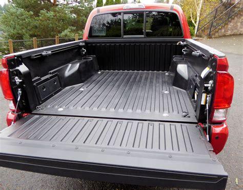 Toyota Tacoma Bed 2016 Toyota Tacoma Test Drive Nikjmiles