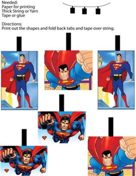 superman mobil decor superman party decorations