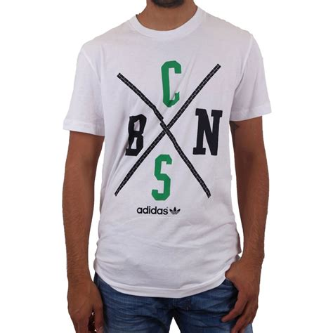 Celtics Adidas Tshirt adidas originals celtics nba t shirt white sportus