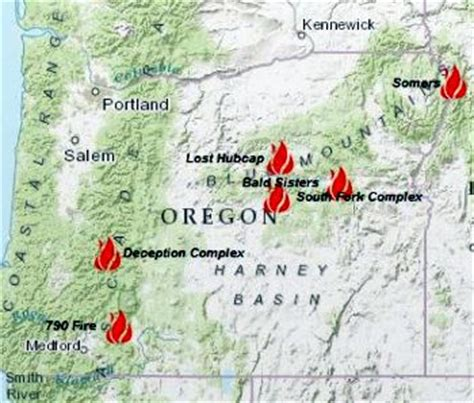 map of oregon fires | my blog