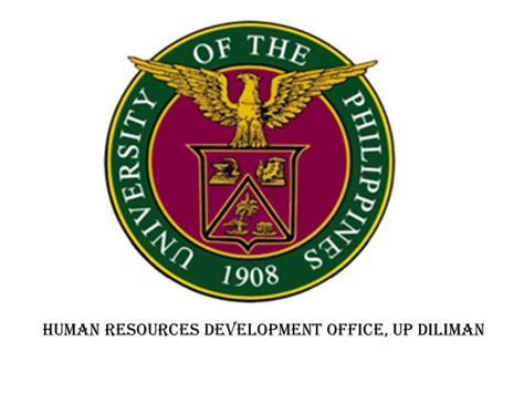 Requirements For Mba Program In Up Diliman by Hrdo Human Resources Development Office