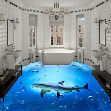 3d bathroom floor painting amazing 3d flooring art 3d epoxy floor murals installation