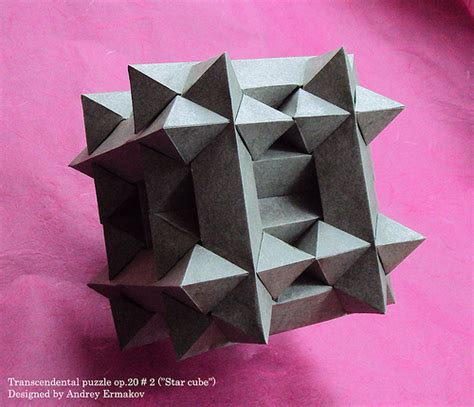 How To Make Paper Puzzle - transcendental puzzle op 20 2 cube flickr