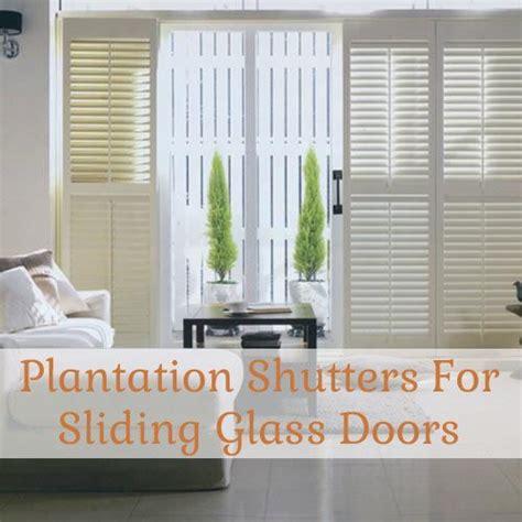 sliding shutters for patio doors plantation shutters for sliding glass doors the