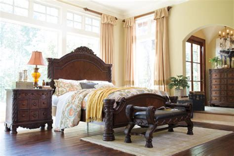 ashley furniture millennium bedroom set millennium by ashley furniture north shore bedroom group