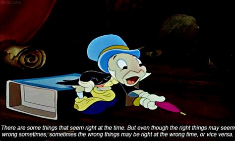 Jiminy Cricket Meme - let your conscience be your guide